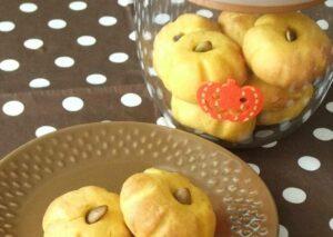 Simple and Soft Kabocha Squash Halloween Cookies